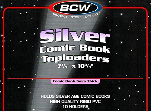Silver Age Comic Book Rigid Topload Holder 20 Pack