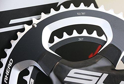 FSA SL-K Light BB30 / PF30 Road Tri Bike Crankset + BB 52/36T 172.5 N10/11s NEW by FSA (Image #2)