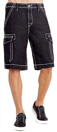 934e75b5a Amazon.com  True Religion Men s Trooper Big T Cargo Shorts  Clothing