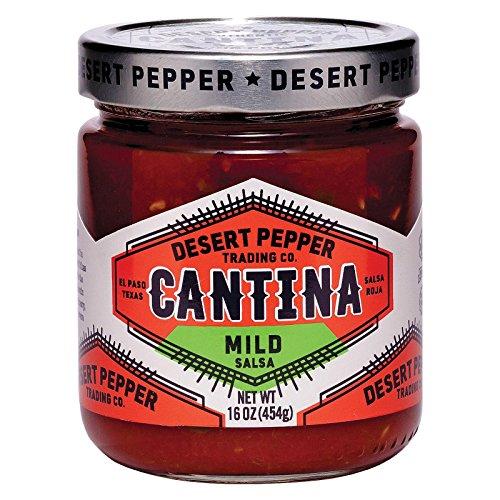 Desert Pepper Salsa Cantina Mild Red, 16 oz