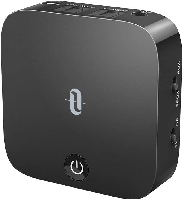 TaoTronics TT-BA09 Bluetooth 5.0 Transmitter and Receiver Digital Optical...