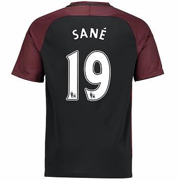 co Fc 19 City 2016 Away uk No Amazon Medium Sane Men's Football Leroy Kit 2017 Size amp; Manchester Shirt Sports Outdoors