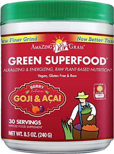 Amazing Grass Green SuperFood Berry 30 Servings 8.5 Ounces