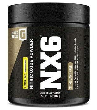 Complete Nutrition Elite Gold NX6 Nitric Oxide Supplement, Increase Vascularity and Endurance, Beta Alanine, Nitrosigine 1