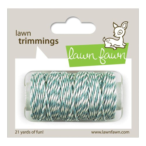 LF595 Lawn Fawn Trimmings Hemp Cord 21 Yards - Sky