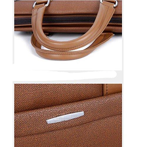Gentleman Temperamentales Salvajes Simple Y Elegante Bolso De Hombro Mochilas Para Portátiles Bolsa Multicolor Cuadrado Grey