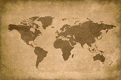 Vintage World Map Poster Amazon.com: Keep Calm Collection Vintage World Map, Poster Print