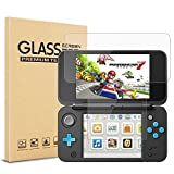 Nintendo 2DS XL Screen Protector (1*Top Glass protectors + 1*Bottom Glass Protectors), FayTun Glass Screen Protector for new Nintendo 2DS XL [ Clear HD] [9H Hardness][Scratch Resistant] [Easy Install]