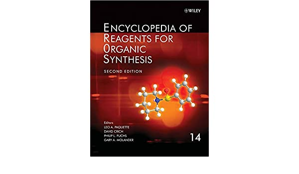 Encyclopedia Of Reagents For Organic Synthesis Pdf