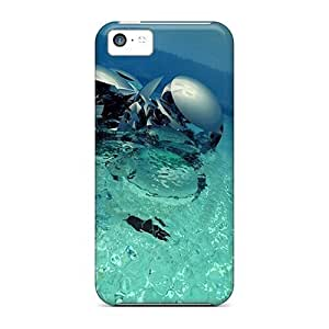 Ideal CaterolineWramight Cases Covers For Iphone 5c(3d Water Statue), Protective Stylish Cases by lolosakes