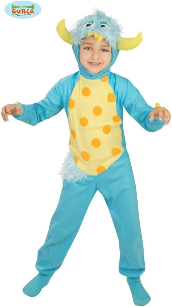 Guirca - Disfraz de monstruito, para niños de 5-6 años, color azul ...