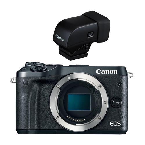 Canon EOS M6 24MP Mirrorless Digital Camera , Full HD Video,