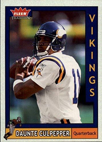2003 Fleer Tradition #113 Daunte Culpepper NFL Football Trading Card from Fleer Tradition