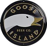 Goose Island Beer Co. - Round Logo Tin Tacker/Bar Sign