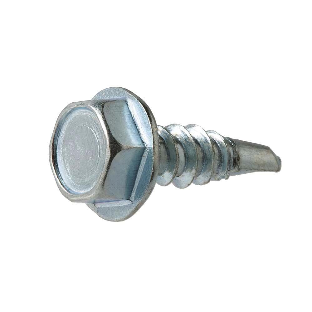 Crown Bolt 30302#10 x 5//8 Inch Self-Drilling Sheet Metal Screws 100-Count