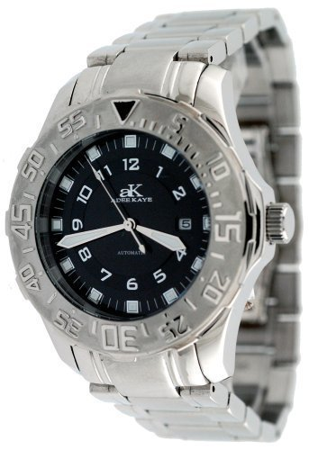 Adee Kaye #AK6269-M1 Men's Enamo Sports Stainless Steel Automatic Watch