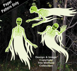 Ghostly Spirits Woodcraft Pattern -