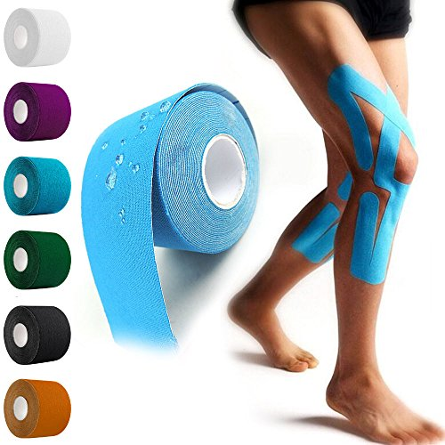 1x Athletic Muscle Support Sport Kinesiology Tape Physio Strapping Tide