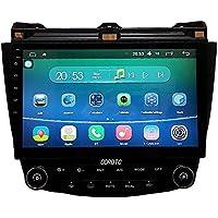 Android 5.1.1 7th 2003-2007 Honda Accord Dual Zone 8 Inch Indash Car Stereo Radio Head Unit GPS Navigation DVD Player with Bluetooth/SD/USB/FM/AM Radio/Steering Wheel Control/AV-IN/Free Map