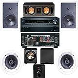Klipsch R-1650-W In Wall #1 (RC-42II) 5.1 System-Onkyo TX-NR626 7.2-FREE PL-200