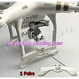XSD MOEDL 1pair Newest 3D printed Landing Gear Part Heighten Landing Gear Frame For Protection DJI Phantom 3