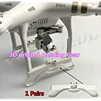 XSD MOEDL 1pair Newest 3D printed Landing Gear Part Heighten Landing Gear Frame For Protection DJI Phantom 3