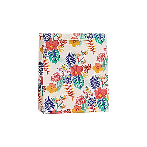 Paper Source Tiki Floral Gift Bag - Medium Bag