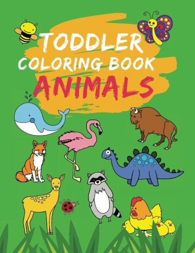 Sea Animals Book Activity (Toddler Coloring Book Animals: Cute, Easy, Fun, Jumbo Preschool Prep for Boys/Girls Ages 2-4 to Color 100 Creatures - Farm, Wild, Sea, Dinosaur, Mythical (Large Coloring Book for Kids))