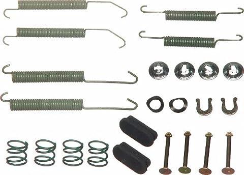 Wagner H7201 Drum Brake Hardware Kit, Rear (1999 Saturn Sl2 Rear Brake Shoes)