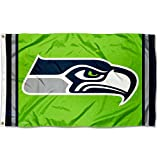 WinCraft Seattle Seahawks Green Flag and Banner