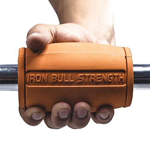 Extreme Arm Blaster Alpha Grips 2.0 Best Dumbbell and Barbell Thick Bar Ada
