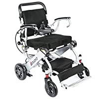 2018 New powered wheelchair light weigt 50lbs,Strong and durable for the use, support 330 lbs, convenient for home and outdoor use.