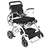 2018 New Foldable Electrical wheelchair & elder people power chair,light weigt 50lbs, convenient for home and outdoor use