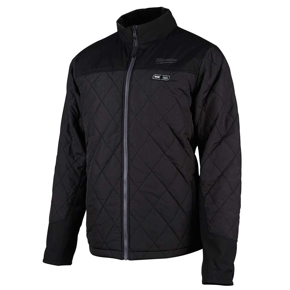 Milwaukee 233B-20L M12 Heated Women's Axis Jacket Only L (Black)
