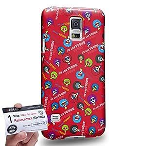 Case88 [Samsung Galaxy S5] 3D impresa Carcasa/Funda dura para & Tarjeta de garantía - Art Fashion Tonight We Are Young A Hipster Inspiration