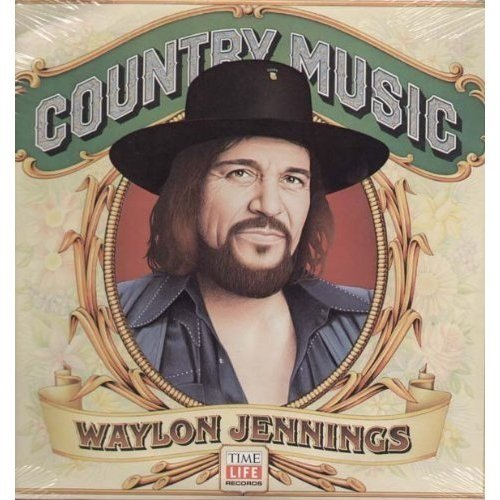 Waylon Jennings: Country Music [Vinyl LP] [Stereo] by MCA