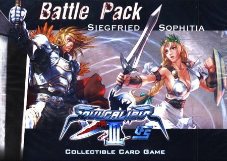 (Universal Fighting System (UFS) Card Game Soul Calibur III Battle Pack Siegfried Vs. Sophitia)
