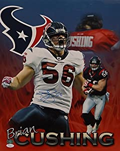 Brian Cushing Autographed Texans 16x20 Multi-Shot Photo- JSA Authenticated