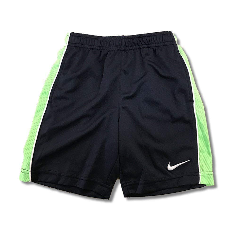 Boys Nike DriFit Athletic Basketball Shorts (7, Blue/Green ...