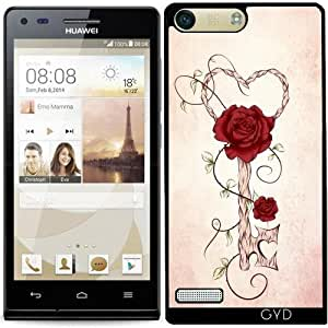 Funda para Huawei AscendP7 Mini - llave del amor by LouJah