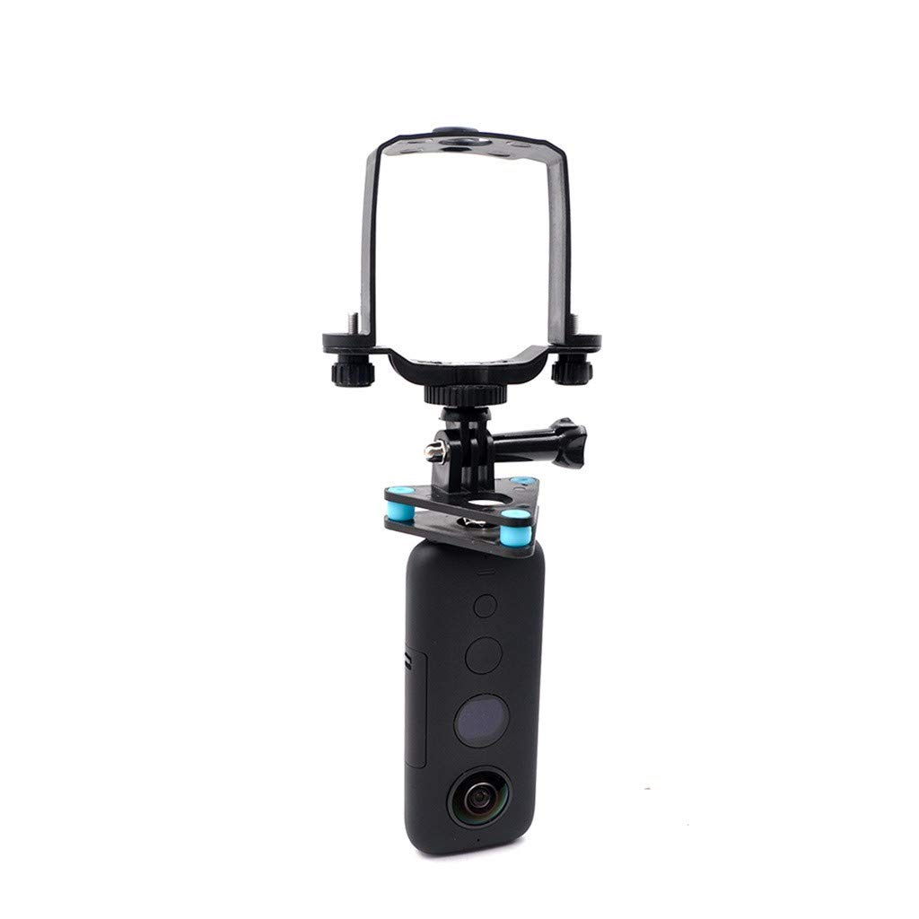 Camera Gimbal Holder Shock Absorber Mounting Bracket Kit for DJI Mavic 2, Gopro, Insta360 One X Action Camera Accessories