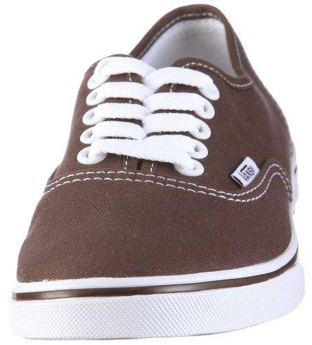 Authentic Marrón Lo Pro Adulto Classic Vans Canvas Zapatillas Unisex vOTqqxPw
