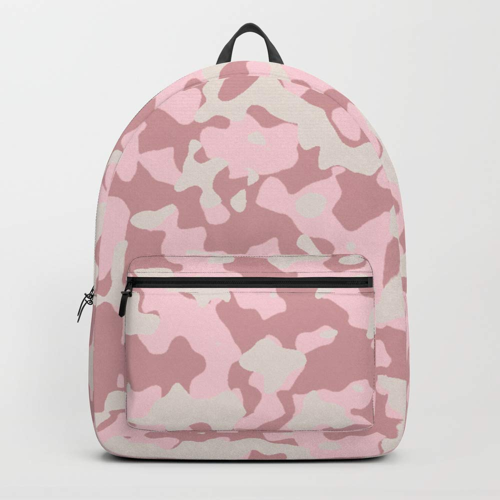 Society6 Backpack, Camouflage Wedding by saravalor, Standard Size