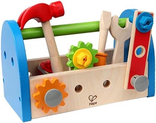 Tagke Caja de Herramientas para niños de Madera Toy Boy Simulación ...