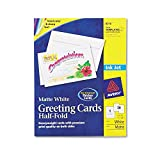 AVE8316 - Avery Half-Fold Greeting Cards