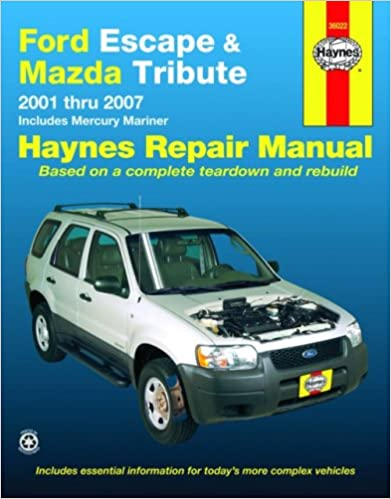 chilton ford escape 2008 repair manual
