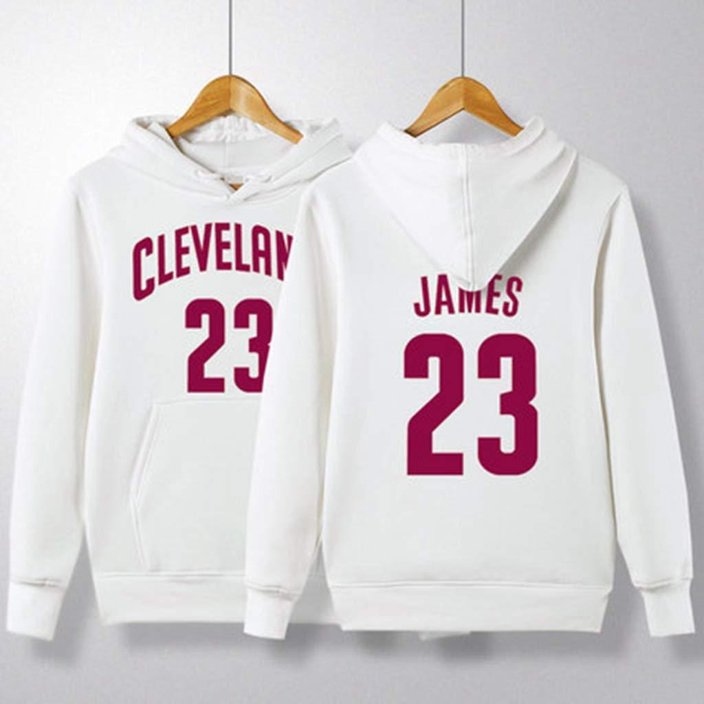 HS-ZGC Otoño Camiseta de Baloncesto Cleveland Cavaliers James # 23 ...
