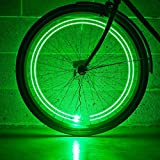 Monkey Light M204 Bike Wheel Light USA Assembled 40 Lumen Ultrabright Color LEDs Tire Spoke Accessory Waterproof Cool Mothers Day Gifts for Mom, Graduation Senior Gifts, Toys for Teen Boys and Girls