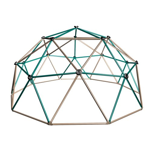Metal Ground Plane - Lifetime Geometric Dome Climber Play Center, Earthtone