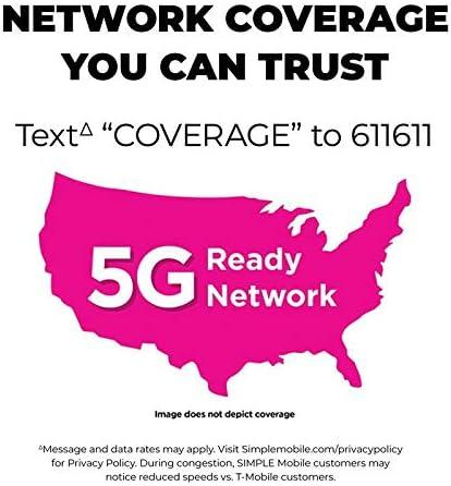Simple Mobile Carrier-Locked LG Stylo 5 4G LTE Prepaid Smartphone - Black - 32GB - Sim Card Included - GSM WeeklyReviewer